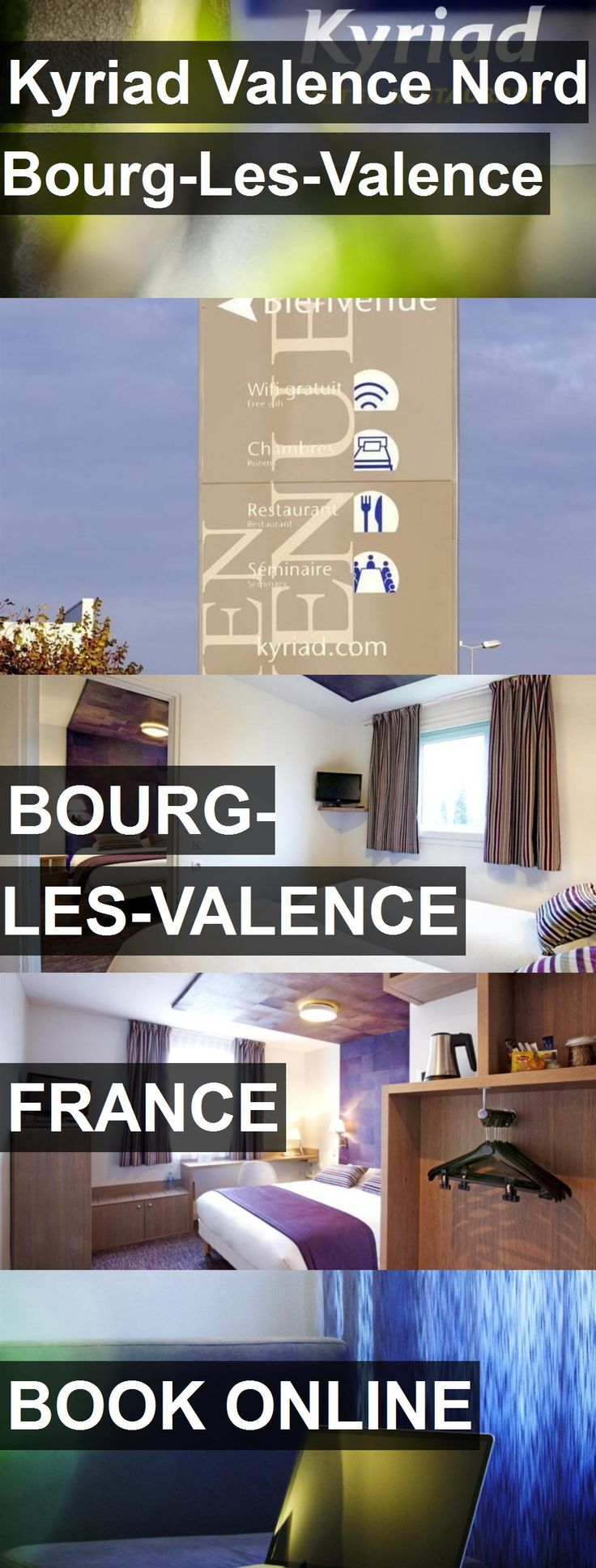 Hotel Kyriad Valence Nord Bourg-Les-Valence in Bourg-les-Valence, France. For more information, photos, reviews and best prices please follow the link. #France #Bourg-les-Valence #hotel #travel #vacation
