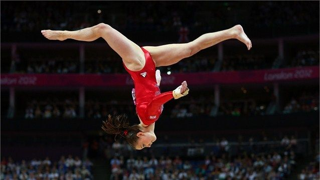 highlights from women's artistic gymnastics at the Olympics - London 2012