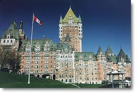 Le Chateau Frontanec in Old Quebec City!  A truly romantic getaway!  You must go!  I must go back!