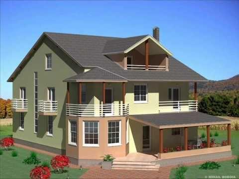 Casa IC 18 Bucuresti casa cu etaj si mansarda stil american