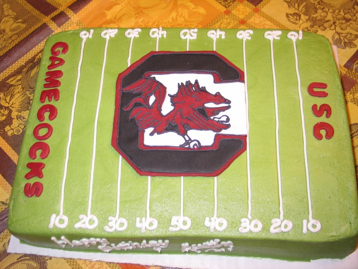 Usc Birthday Cake Images : CAROLINA CAKE!!! GO COCKS!! Products I Love Pinterest ...