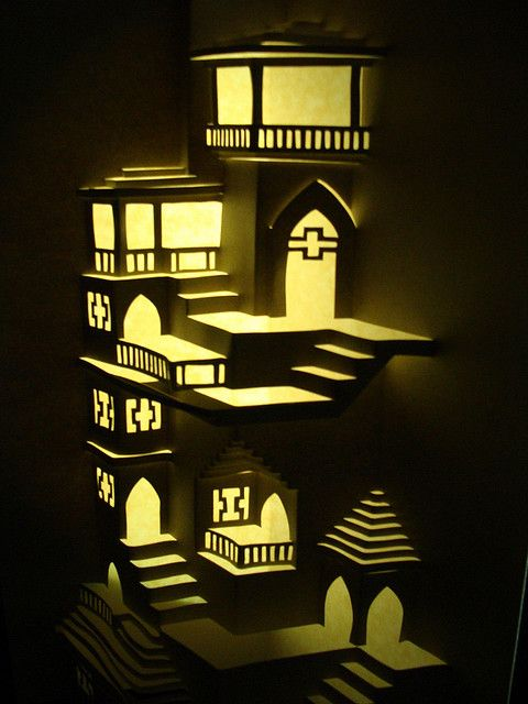 ★ Origamic Architecture Instructions  Free Kirigami Templates ★