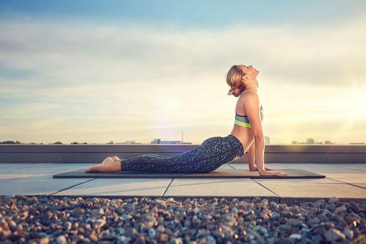 Yoga on Behance