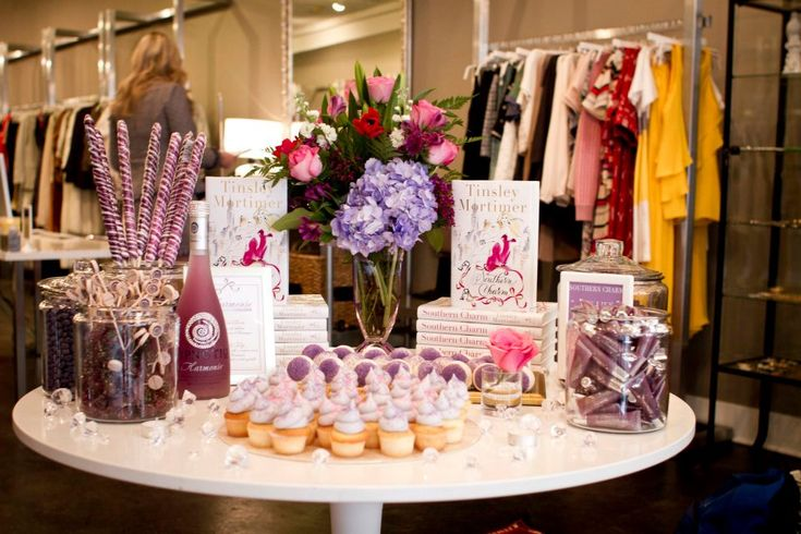 Tinsley Mortimer visited Charleston last week to kick off the book tour for her first novel, Southern Charm. Hampden Clothing...