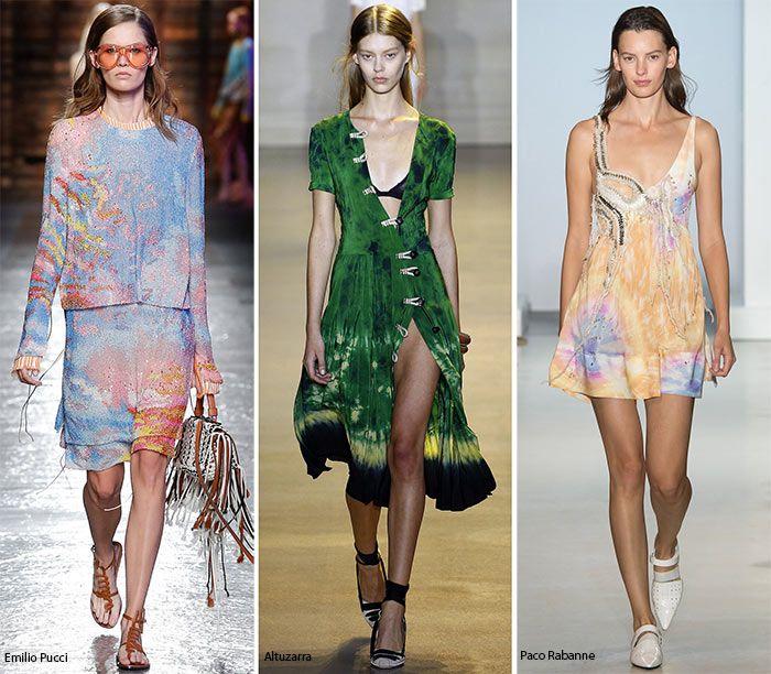 Spring/ Summer 2016 Print Trends: Tie Dye Patterns