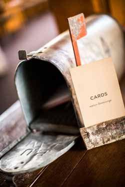 American Vintage Wedding Mailbox Inspiration #wedding www.theweddingofmydreams.co.uk