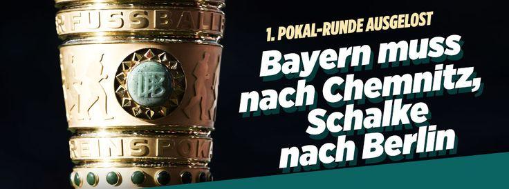 1. Runde im DFB-Pokal | Die Auslosung im Live-Ticker