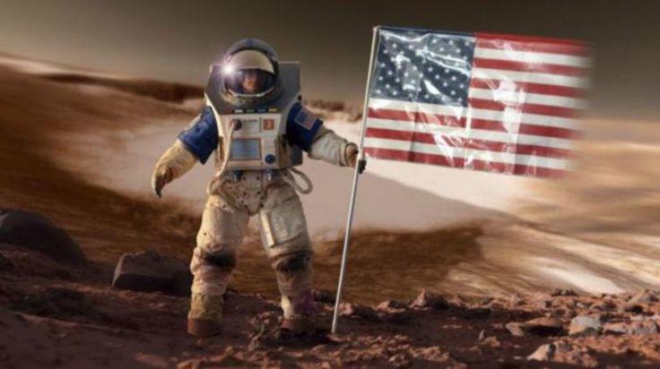 Amerika gandeng perusahaan swasta kirimkan manusia ke Mars - BBC Indonesia