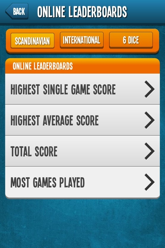 Leaderboards - extensive stats to track your progress :) #Yatzy #Online