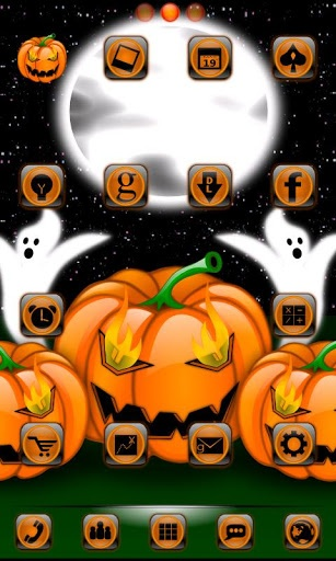 Halloween GO Launcher Theme V12 Android Themes Wallpapers