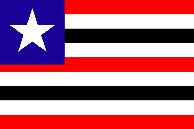 Bandeira do Maranhão – Estados e Capitais do Brasil
