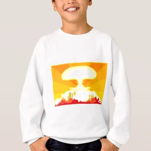 (End of the World Sweatshirt) #Bomb #Atom #Bombing #Cloud #Cold #Damage #Death #Destruction #Disaster #Environmental #Exploding #Explosion #Explosive #Heat #Hydrogen #Illustration #Mushroom #Nuclear #Science #Threats #Vector #Violence #War #World #Worlds is available on Funny T-shirts Clothing Store   http://ift.tt/2gs6wgF
