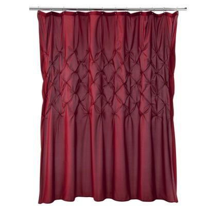 Diamond Tuck Shower Curtain From Target