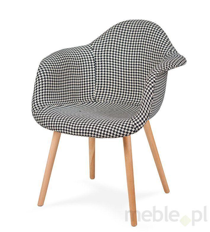 Fotel PLUSH PEPITKA