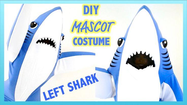How To Make A Mascot Shark Costume- DIY Left Shark