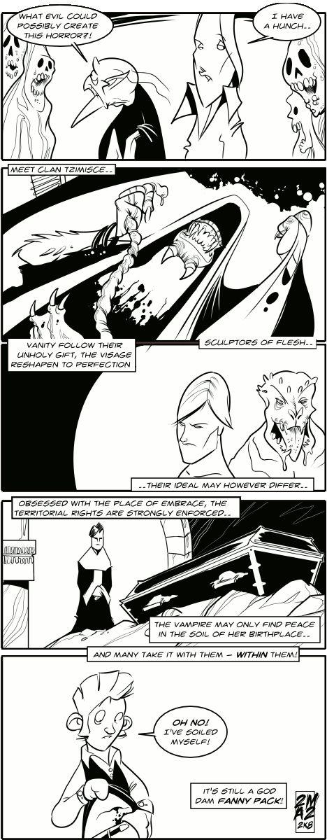 Vampires Suck - 86: Clan Tzimisce