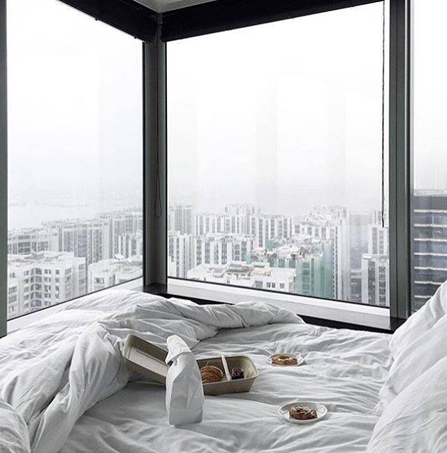 Breakfast with a view over Hong Kong at @easthk. : @thetrottergirl #ThePreferredLife
