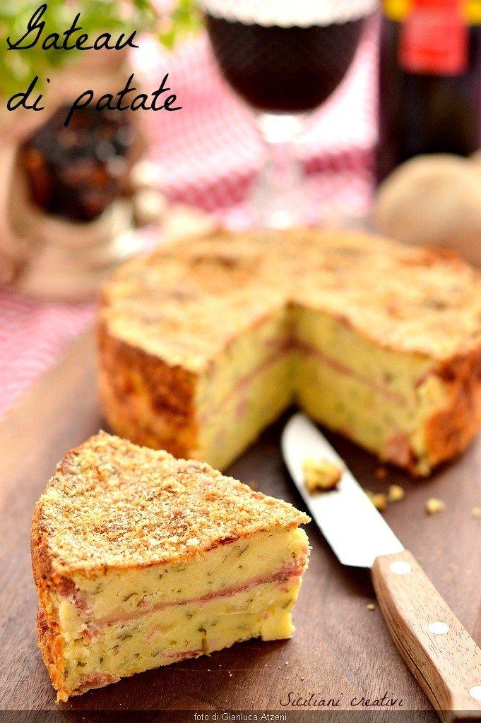 Gateau (o gattò) di patate | SICILIANI CREATIVI IN CUCINA | di Ada Parisi