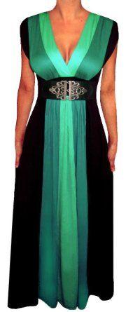Dressy casual: $60 green maxi dress