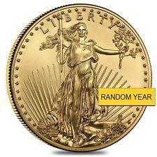 1 oz American Eagle $50 Gold Coin (Random Year)