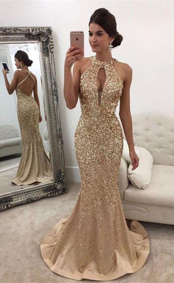 mermaid prom dresses,sexy prom dresses,champagne prom dresses,backless prom dresses,prom dresses for teens @simpledress2480