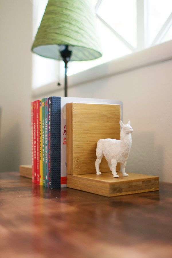 DIY Faux Ceramic Animal Bookends, Two Ways | Kids' Rooms