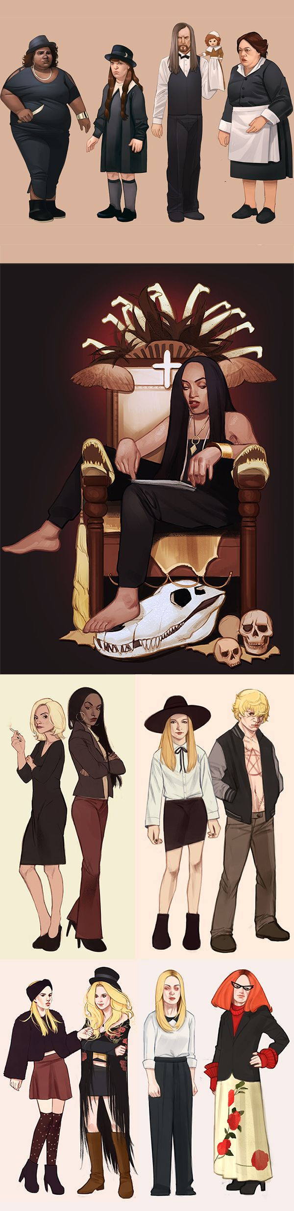 American Horror Story Coven compilation by mannequin-atelier.deviantart.com on @deviantART