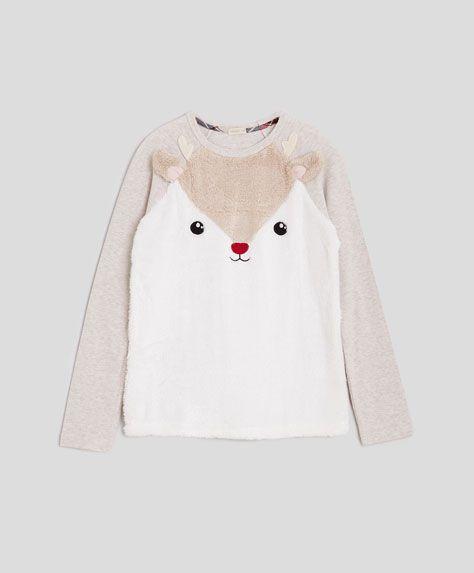 Deer sweatshirt - OYSHO