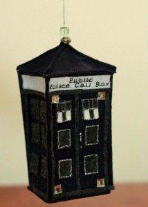 TARDIS Christmas Ornament (with tutorial) \\