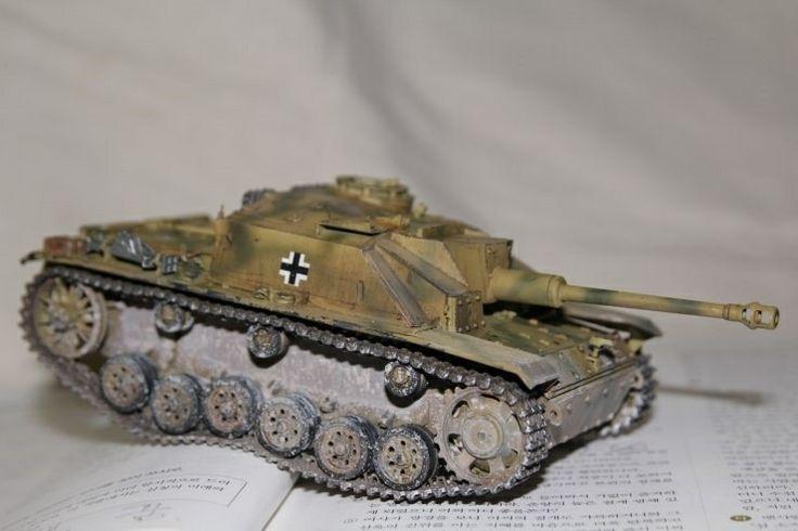 WWII German SS's Stug III  Dragon mm made by Lee Juho