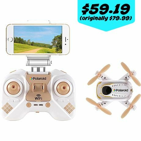 Kmart: Polaroid Wifi Camera Drone for $59.19 After SYW points (originally $79.99) - Couponing to Disney
