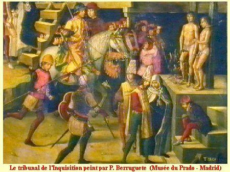 Torquemada et l'Inquisition espagnole: Sous peine de mort : 50 000 maures se convertirent et prirent le nom de moriscos. D'autres organisèrent la révolte et furent sauvagement décimés lors des combats de 1499 et de 1500. Définitivement vaincus les adeptes du Coran rejoignirent l'Afrique du Nord où l'irascible Cisneros les poursuivit jusqu'à Oran.