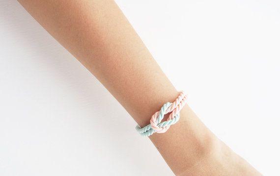 Bruidsmeisje armband nautische armband mariene door ElbrazaShop
