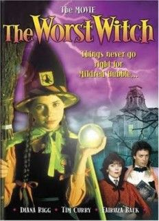 The Worst Witch Telemovie.. it was from the mid/late 80s but I watched it aaall the time in the 90s.
