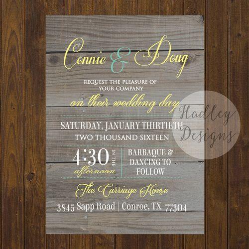 Rustic Wedding Invitations, Country Wedding Invitations, Western Wedding Invitations, Country Rustic Wedding Invitations, Formal Wedding Invitations, Traditional Wedding Invitations