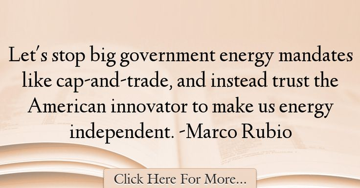 Marco Rubio Quotes About Government - 30256