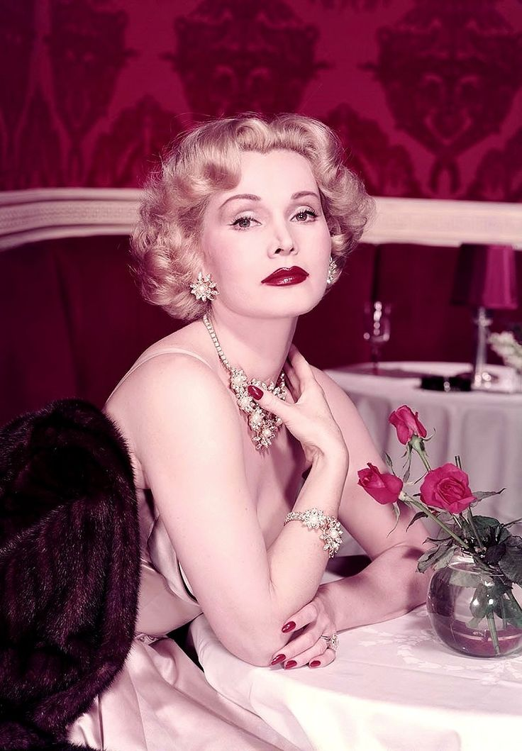 "sparklejamesysparkle: "" ""I love to put on diamonds and beautiful evening gowns and make my girl friends upset."" Zsa Zsa Gabor, 1953. """