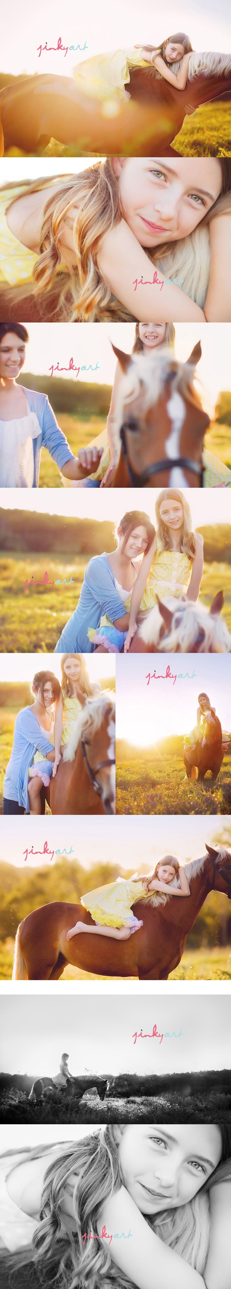 sweet sisters, by Jinky Art Photography - need to do this with my house-lover daughter!
