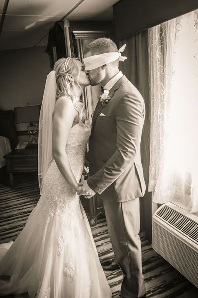 24 Romantic Wedding Photo Ideas ❤ See more: http://www.weddingforward.com/romantic-wedding/ #wedding #photography