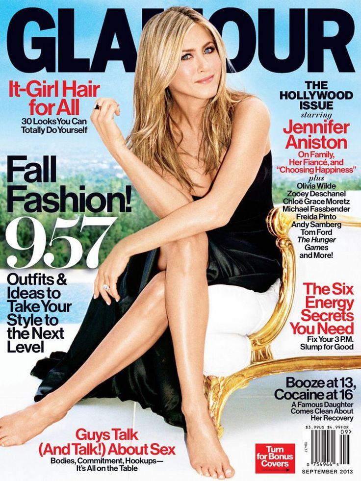 Jennifer Aniston For Glamour Us September 2017