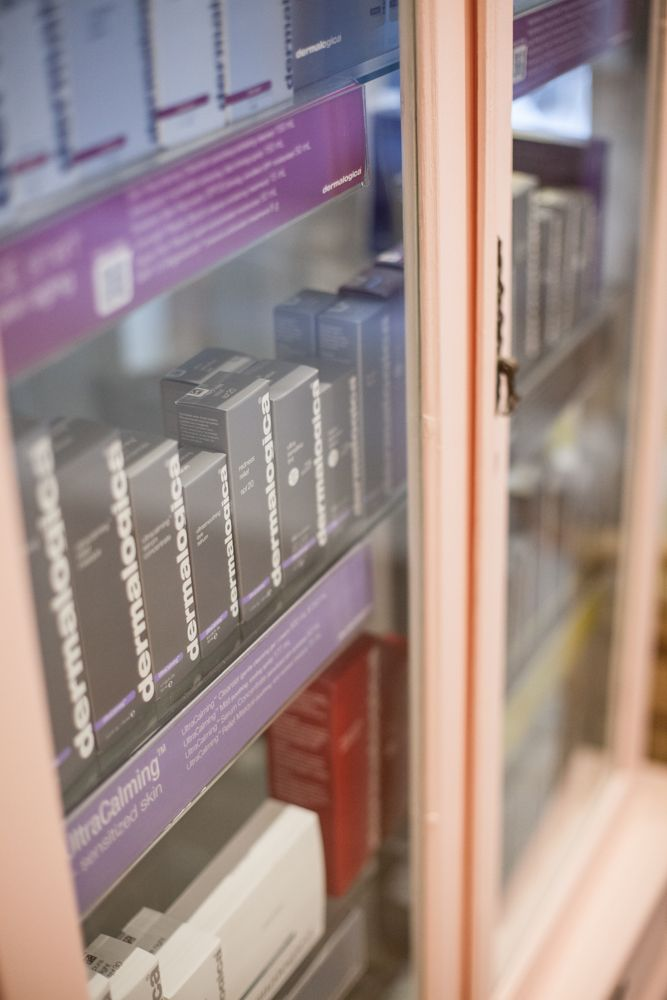 Fully stocked Shelves - Dermalogica
