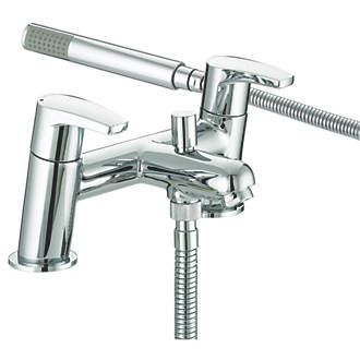 Bristan Orta Dual Lever Bath/Shower Mixer Tap | Bath Taps | Screwfix.com