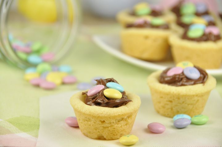 M Nutella Cookie Cups. Easy!