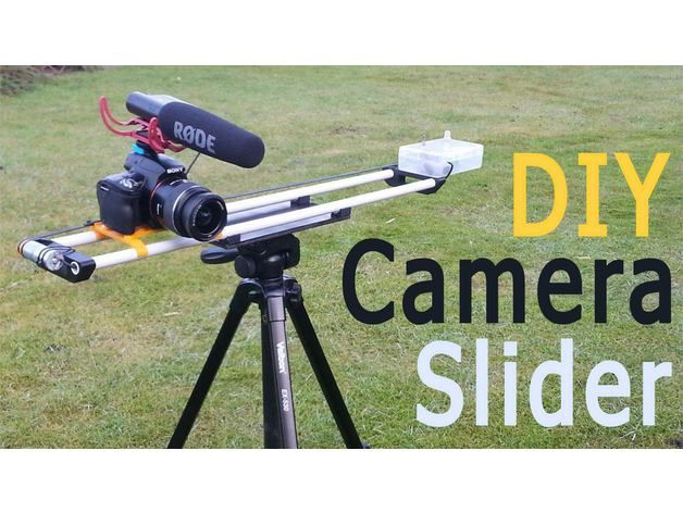 Slick looking slider from RCLifeOn on Thingiverse: This is a motorized DSLR camera slider. Watch my build video here: See more on Thingiverse and YouTube Every Thursday is #3dthursday here at Adafr…