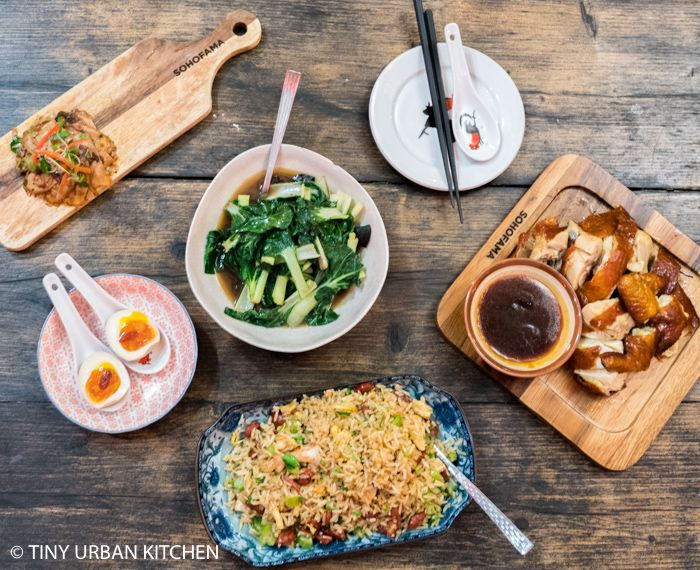 Sohofama Hong Kong Tiny Urban Kitchen Chinese Cooking Chicken Spring Rolls Comfort Food Restaurants