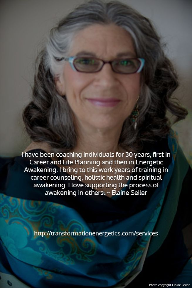 My coaching is about sensing & allowing the vibrations or frequencies that make up all of life to speak to you. Elaine Seiler's coaching focuses on YOUR needs. Your Transformation! #lifecoach #transformation