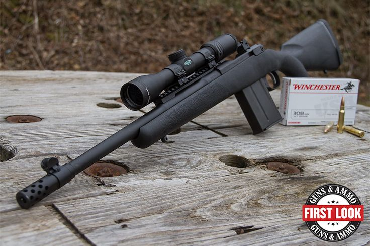 Ruger is further adapting its Gunsite Scout Rifle platform. Check out the new Ruger Gunsite Scout Rifle with composite stock.