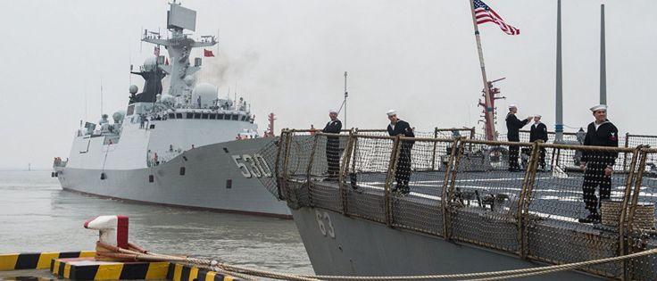 InfoNavWeb                       Informação, Notícias,Videos, Diversão, Games e Tecnologia.  : China envia caças e navios para alertar EUA