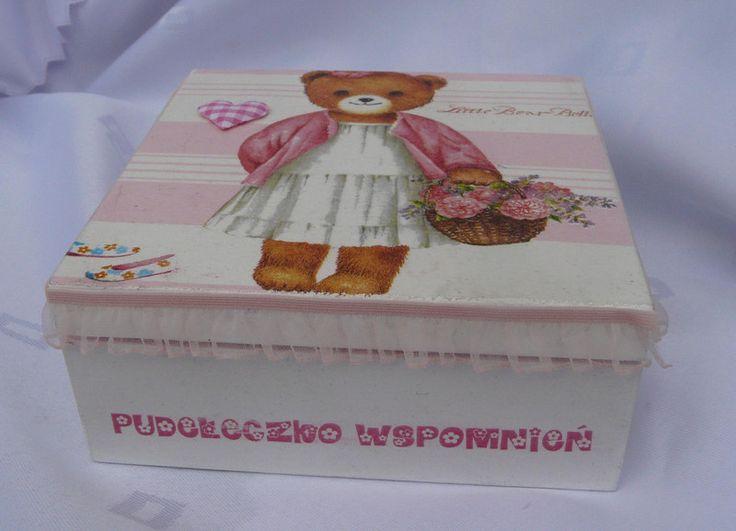 Pudełeczko wspomnień  dla dziewczynki w Eski Floreski na DaWanda.com