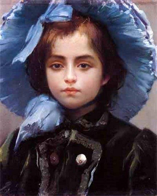 My Daughter Jolanda, by Fausto Zonaro
